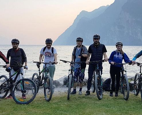 Klassenfahrt Riva del Garda Fahrradtour
