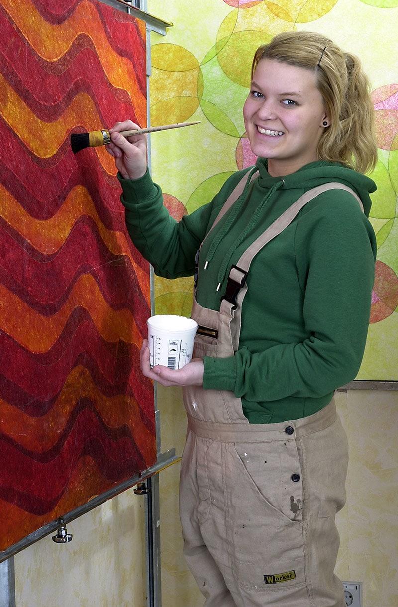 Berufsfachschule Farbe