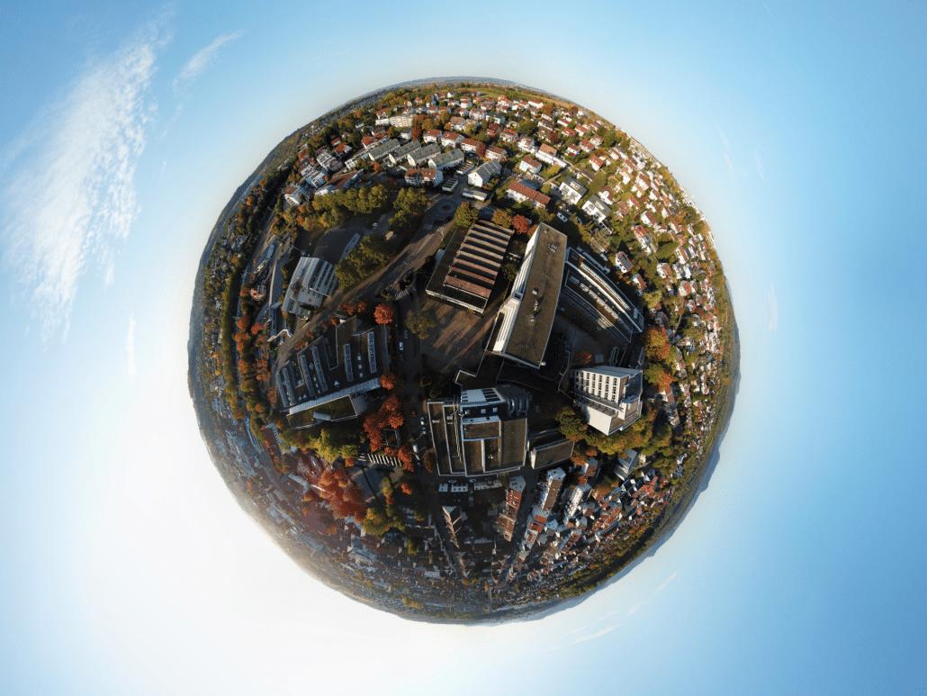 """Fotografieprojekt """"Little Planet"""" im TGG 11"""