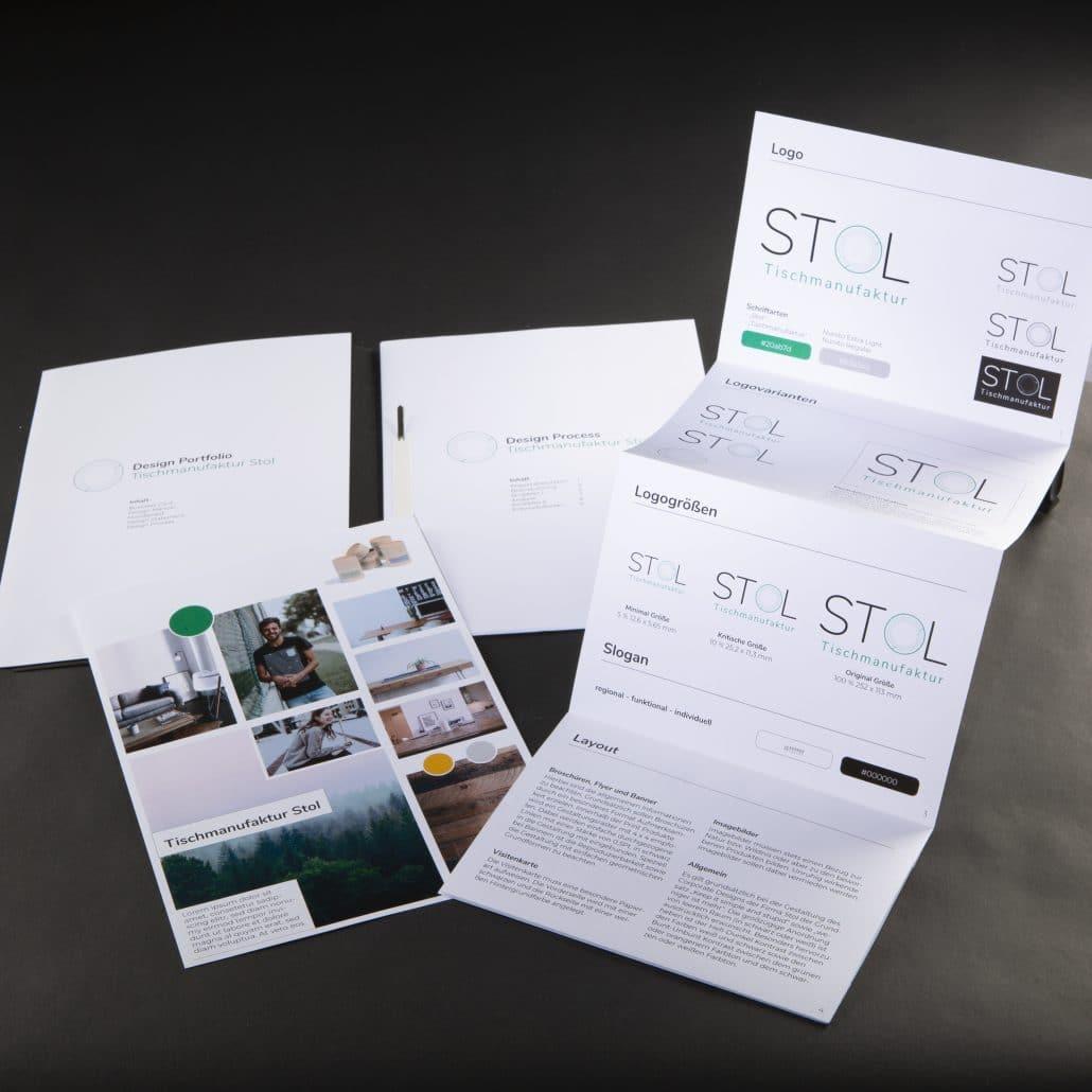 Geschäftsausstattung Corporate Design im TGG 12